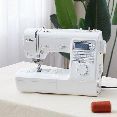 縫紉機【官方旗艦】日本brother兄弟牌全自動縫紉機A80家用電子臺式吃厚裁縫機
