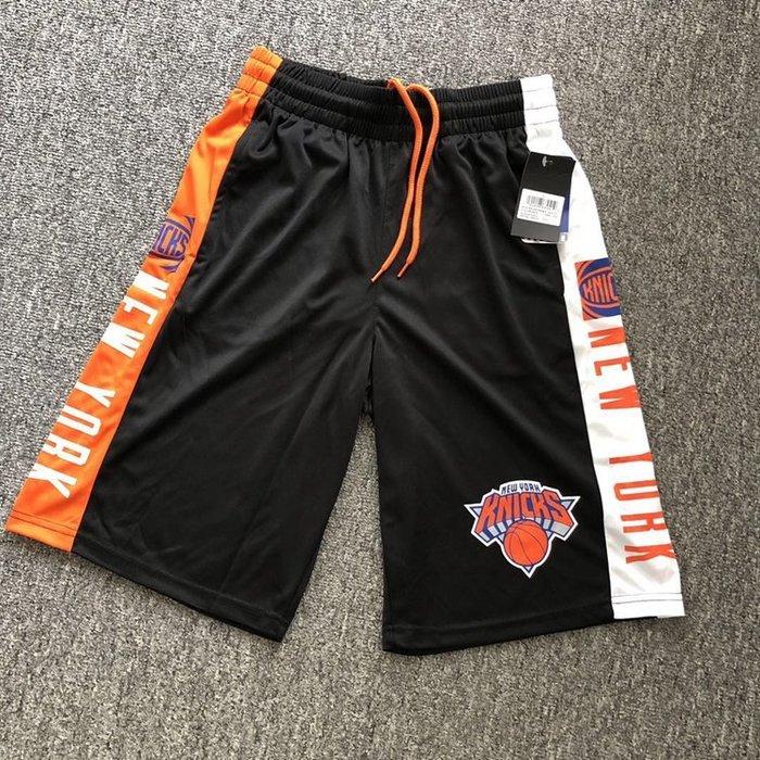 NBA籃球短褲 紐約尼克隊 RJ Barrett  口袋版 運動籃球褲 正版