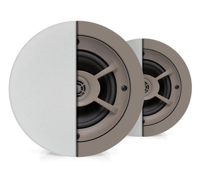 【昌明視聽】Proficient AUDIO C-606 圓形崁頂式喇叭 無邊框網罩設計 2音路結構 HIFI高音質