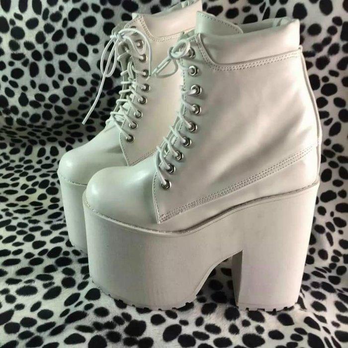 大碼鞋 厚底靴 訂製厚底  舞台表演訂製鞋 超厚底高跟男女鞋  貨號827662