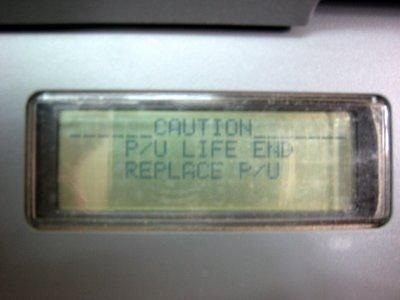 Xerox Phaser 6121MFP - Replace P/U  維修套件