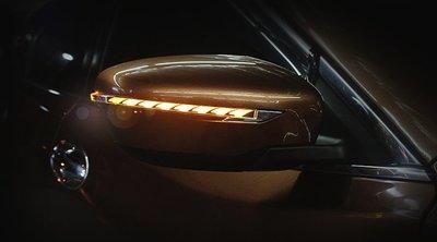 金強車業 NISSAN 納瓦拉NAVARA 2014原廠部品 後視鏡流水燈 跑馬燈 方向燈 小燈 定位燈 序列式