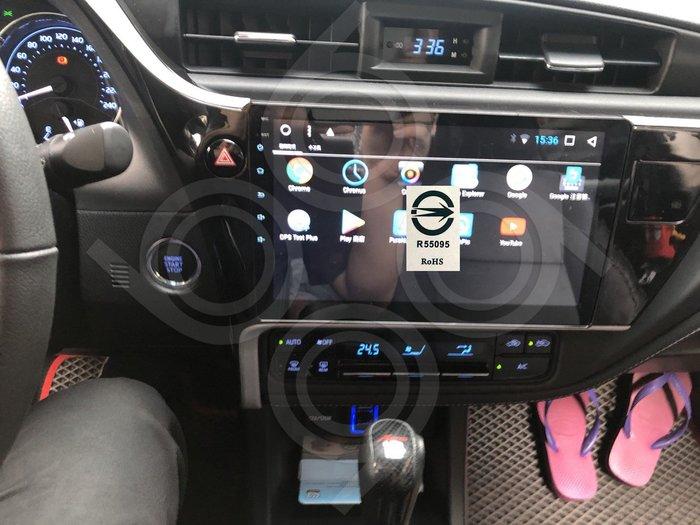 Toyota豐田 Altis11.5代-10吋安卓專用機.Android.觸控螢幕usb.導航.網路電視.公司貨保固一年