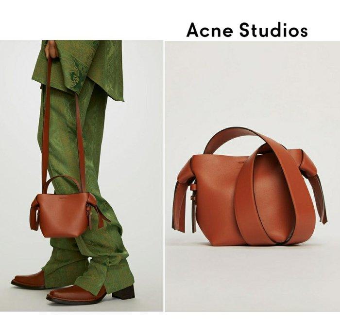Acne Studios ►( 棕褐色 )musubi micro款 肩背包 斜背包|100%全新正品|特價!