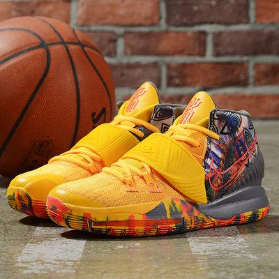 Kyrie 6 EP 厄文6代 Kyrie Irving籃球鞋  訓練鞋 黃橘色