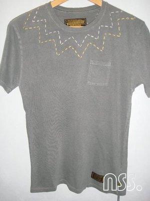 特價「NSS』NEIGHBORHOOD 12 BLISS BRIER C CREW SS 灰 M 刺繡 洗舊 口袋