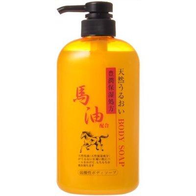 『山姆百貨』CHEMIPHAR 馬油保濕沐浴乳 600ml 日本製 每天出貨 門市自取 面交