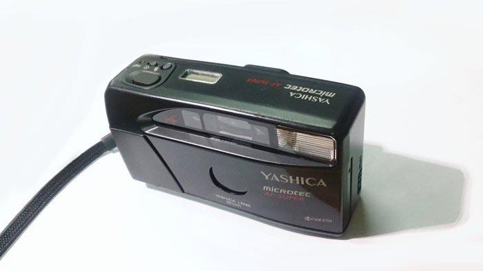 ☆手機寶藏點☆ YASHICA AF Super 底片相機 黑 傻瓜 經典 無法過電 可當零件機 報帳 收藏用 咖139