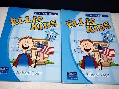 【考試院二手書】《ELLIS KIDS Level 1 T1-3 Student Book+Workbook》│PEARSON Digital Learning│(B11Z42)