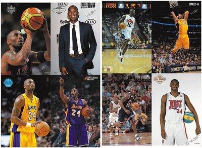 (現貨)籃球球星海報 一套八張 a3大小 有柯瑞韋德哈登科比歐文杜蘭特勒布朗詹姆士