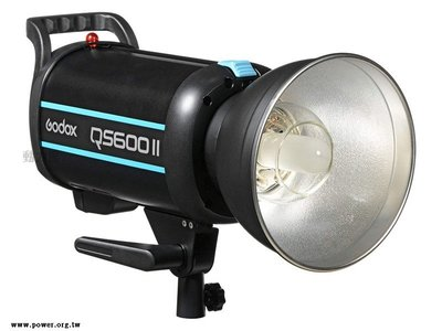 《動力屋 》台灣公司貨 Godox 神牛 Quicker QS600II 閃客110V高速回電棚燈