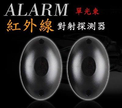 【愛購寶】單光束20米紅外線對照式感應器/雙軌紅外線對照式偵測器/保全防盜遮斷觸發