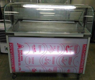 冠億冷凍家具行 歡迎租賃/4尺1冷藏展示櫃/小菜櫥/展示櫃/滷味展示台/鹹酥雞台/海鮮櫥/