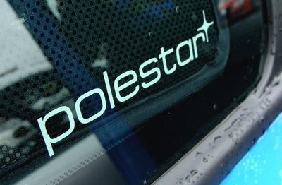 Polestar-logo品牌型像貼紙 VOVO專屬改裝品牌