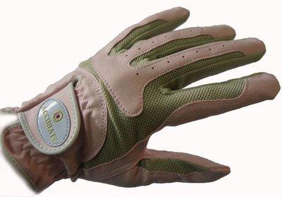 【配件類ACCURATE新款超細布+透氣網布超完美製作高爾夫用女用手套年中特價