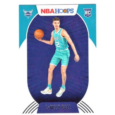 倒數11張!(RC) 黃蜂核心 Lamelo Ball 正規NBA Hoops Rookie Base版新人RC卡 2020-21 No.223