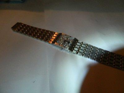 小曉名錶~收藏家之23  PIAGET是伯爵18K白金  整隻原裝原鑲鑽`已蒙台積電工程師永康王先生收藏非常感激