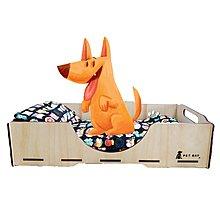 【寶貝愛寵】KT002 KATIE凱蒂床寢具組(墊+枕) 嚴選布料 毛小孩 寵物床 寵物睡墊 睡窩