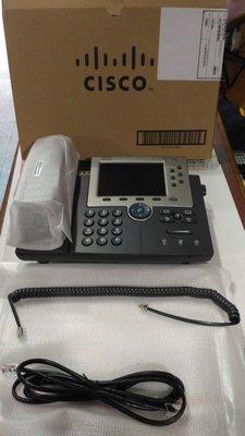 Cisco unified IP 電話(型號:7965G,實品如照,一台新品, 下標特價$1200/台)