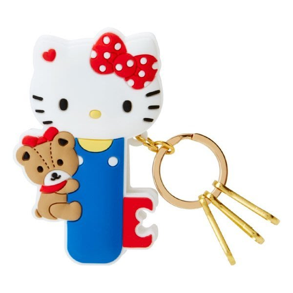 代購現貨 日本三麗鷗造型夾式鑰匙扣 凱蒂貓 美樂蒂 雙子星 大耳狗
