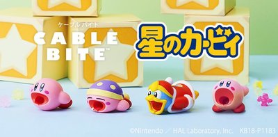 Cable bite for iPhone  任天堂 星之卡比 Nintendo日本直送 正品