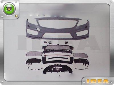 泰山美研社 D1862 BENZ W176 A200 A180 改A45 AMG樣式前保桿 後保桿 側裙 大包