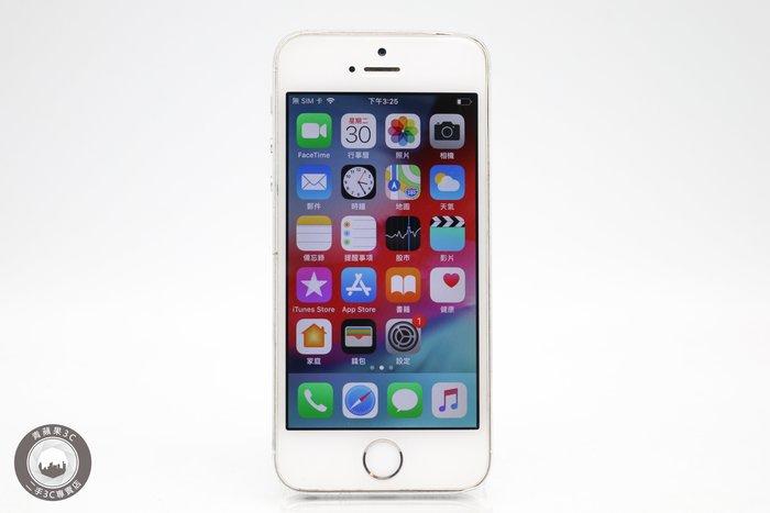【台中青蘋果競標】Apple iPhone 5S 銀 16G 故障機出售 通話功能故障 #30632