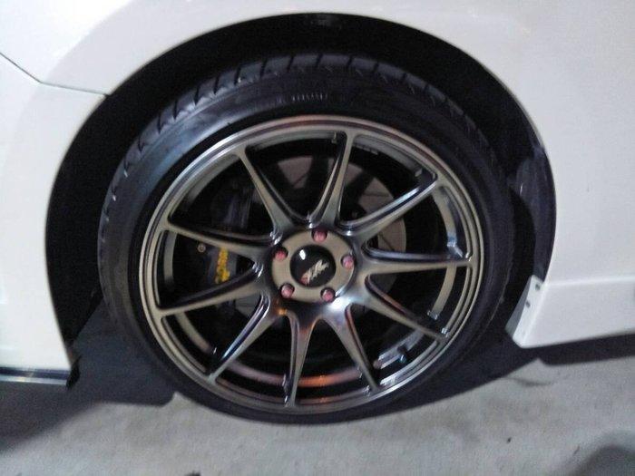 DJD19042202 XXR 527 18吋鋁圈 5孔100/5孔114 複合孔 Mazda3 Altis Civic