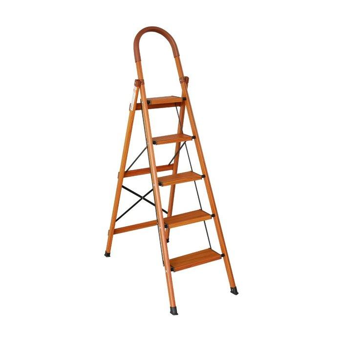 TRENY 木紋加寬扶手梯 - 五階 4656-B