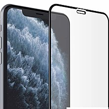 """Full-Coverage 3D Tempered-Glass Compatible for iPhone 11 Pro , Xs X 5.8"""""""