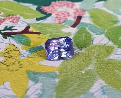 揚邵一品(附國際證)1.06克拉紫羅蘭藍寶石 無燒天然~高淨度 色濃豔 艷紫和深藍的迷人融合 紫色剛玉 紫色藍寶石