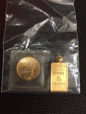 1990年加拿大楓葉女王頭金幣⋯