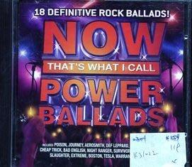 *真音樂* NOW THAT'S WHAT I CALL POWER BALLADS 二手 K31022 (封面底破)
