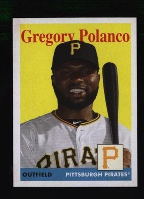 2019 Topps Archives #38 Gregory Polanco - Pittsburgh Pirates