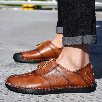 【時尚先生男裝】大碼男鞋大碼男鞋新款男休閑鞋豆豆鞋懶人鞋英倫皮鞋潮男士38~48 2005240397