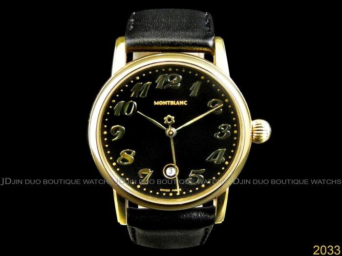 金鐸精品~2033 MONTBLANC 萬寶龍 7005 STAR DATE 明星系列 32mm中型款 石英女用腕錶
