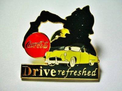 L皮企業寶寶玩偶娃娃全新附袋1997年發行可口可樂(Coca Cola)Drive refreshed 徽章距今有19年