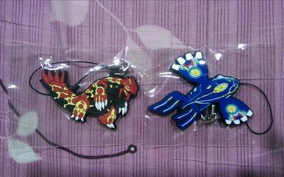 神奇寶貝 始源藍寶石 終極紅寶石 特典吊飾 (紅 藍一組2隻)全新Pokemon
