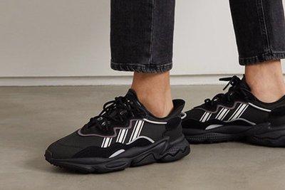 南◇2020 3月 ADIDAS OZWEEGO 網布 范冰冰 愛迪達 女鞋 Eg0553 全黑色 反光 老爹鞋