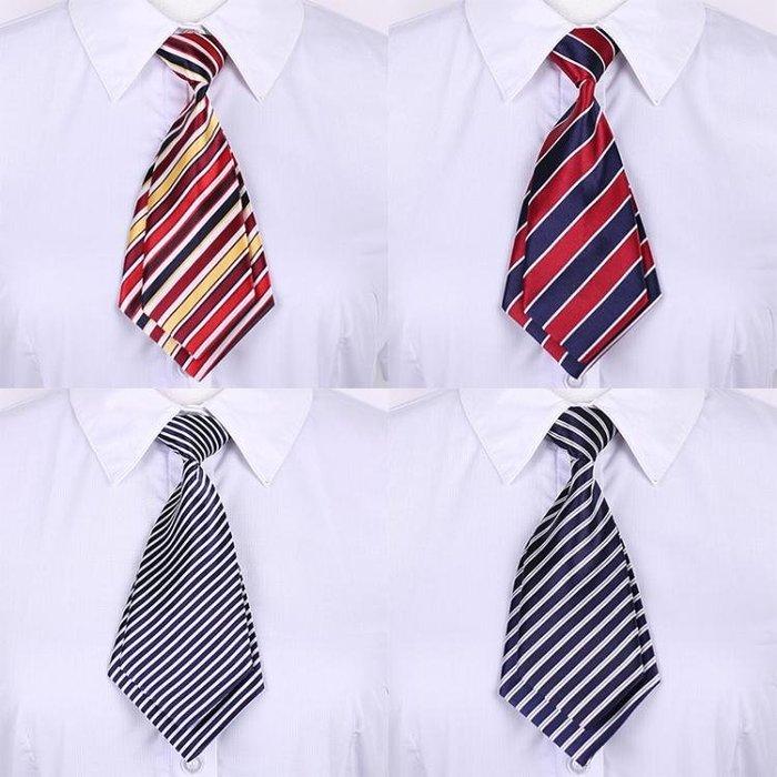 韓版職業正裝學院風女士小領帶雙層領結學院風職業制服蝴蝶結