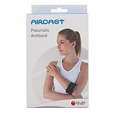 元豐東/東勢網球場~aircast 氣墊式護臂/護肘/ 網球肘(黑色)