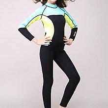 HISEA-M006高檔3mm潛水服 女士連體潛水衝浪衣 水母衣保暖
