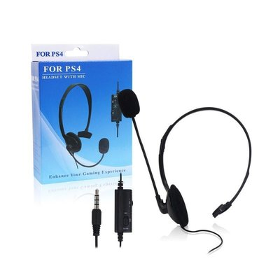 全新遊戲耳機 PS4耳機 PS4有線耳機 PS4耳麥 麥克風 PS4專用耳機 手把耳機