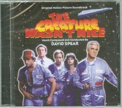 "[原聲帶]-""The Creature Wasn't Nice""- David Spear,全新美版"