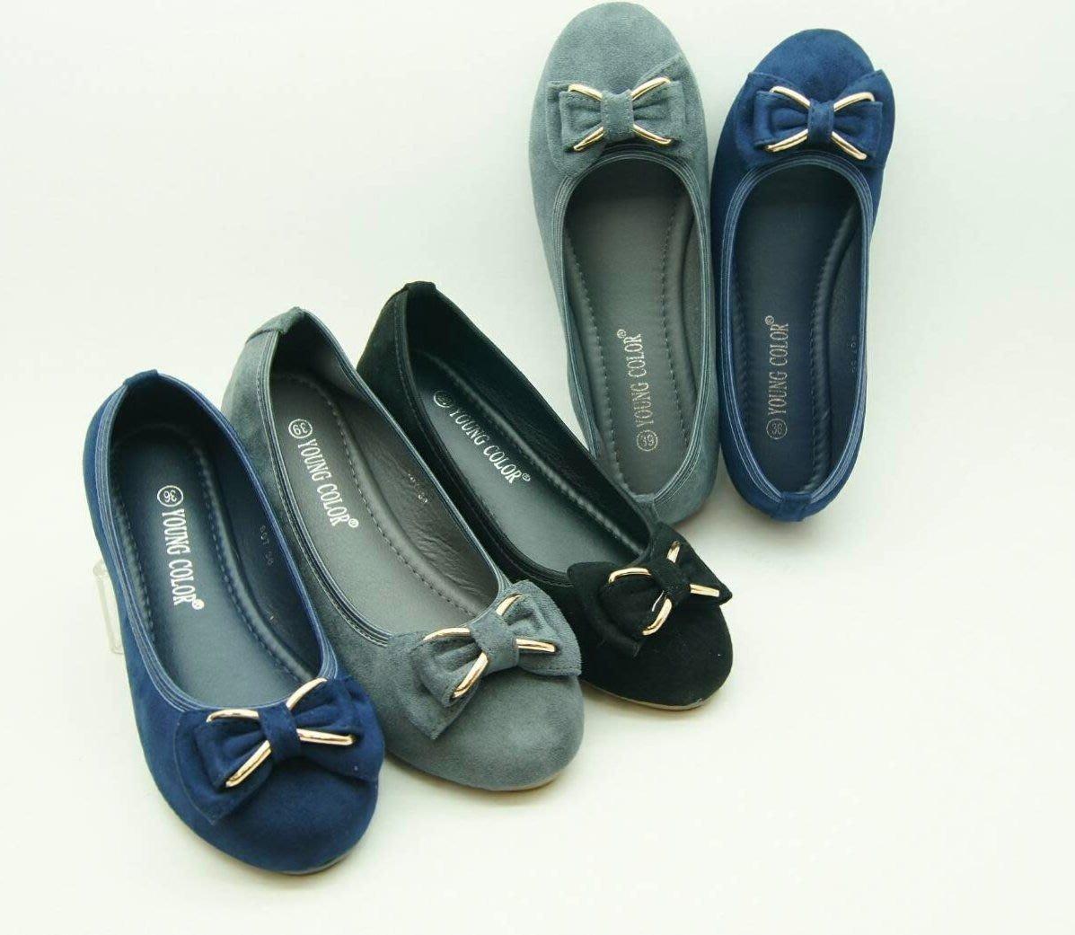 好望角鞋屋   女娃娃鞋 (807)01  顏色:黑,灰,藍  尺寸:36~40