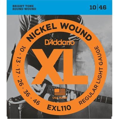 【買三套送換弦工具】 D'Addario 電吉他弦 10-46( EXL-110)、09-42 ( EXL-120 ) 屏東縣