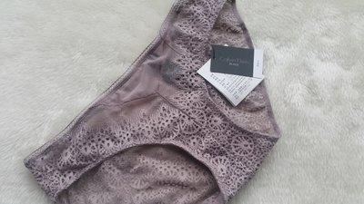 *JOLINNA~SHOP*20519Calvin Klein卡文克萊~蝴蝶紫色蕾絲小褲~XS號~直購550元~