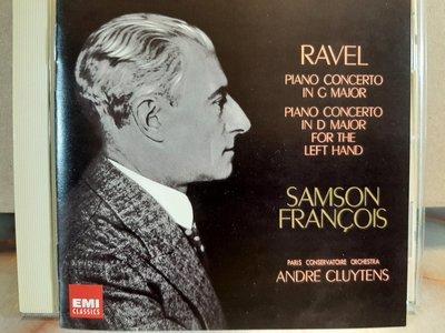 Francois,Cluytens,Ravel-P.c & P.c For The Left Hand富蘭瓦,克路易坦,拉威爾-鋼琴協奏曲及為左手而譜鋼琴協奏曲