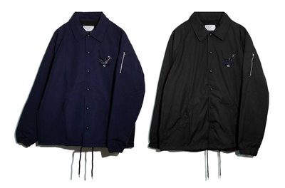 { POISON } LESS HEALTH COME FIRST COACH JACKET 滑爆走族腳踏車刺繡教練外套