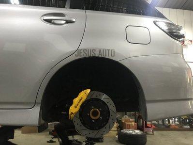 【Jesus Auto】Toyota Previa Wish 前中六活塞卡鉗 後中六活塞卡鉗正進口雙片式浮動碟 油管